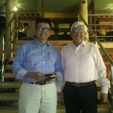 With Economist Jargalsaikhan