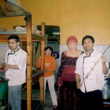With Singer Ariunaa